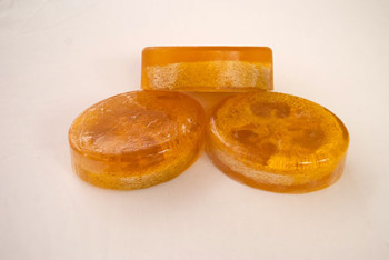 olive oil soap with loofah