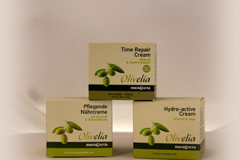 Olivelia face creams