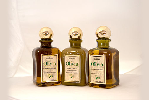 Olivia shower products