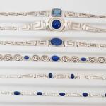 Greek Silver Brachletes